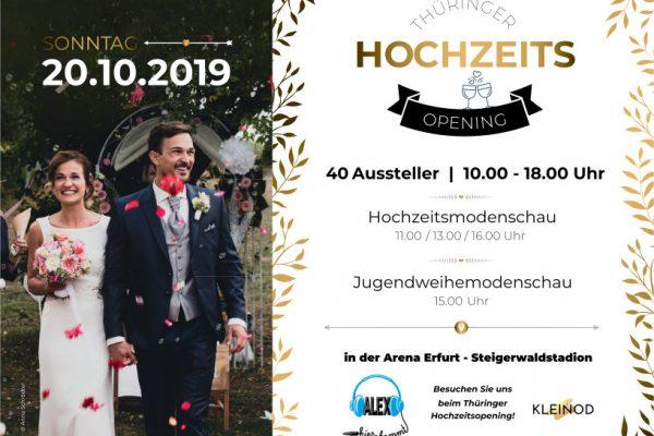 3. Thüringer Hochzeitsopening